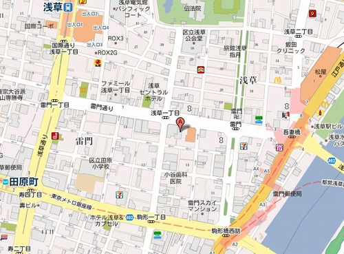 築地市場 浅草雷門店