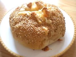 ハム&チーズパン