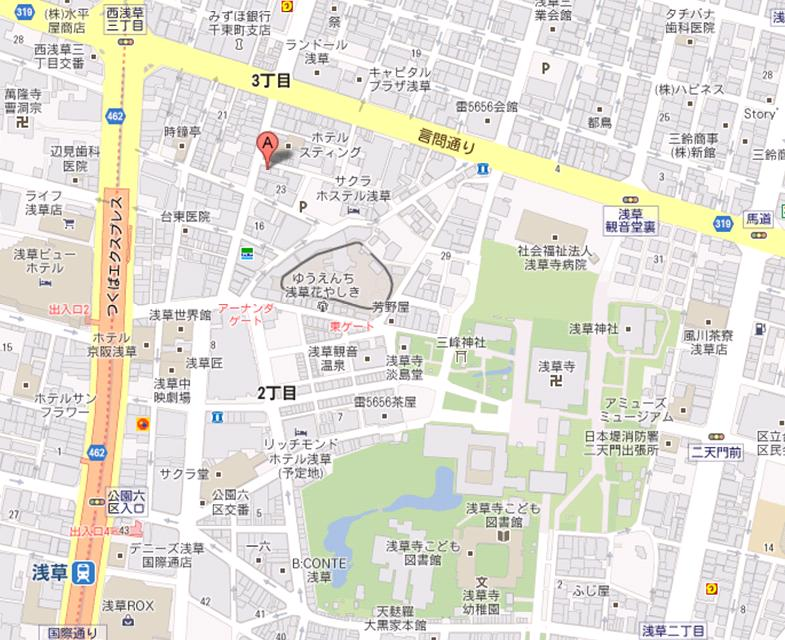 晴晴居酒屋 地図