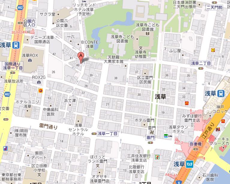 浅草酒場 岡本 煮込み通り2号店 地図
