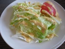 浅草グリルバーグ サラダ
