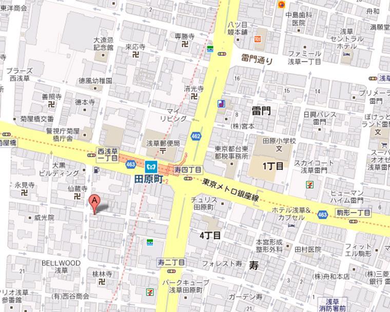 洋菓子 レモンパイ 地図