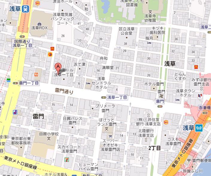 すし処 房寿 2号店 地図