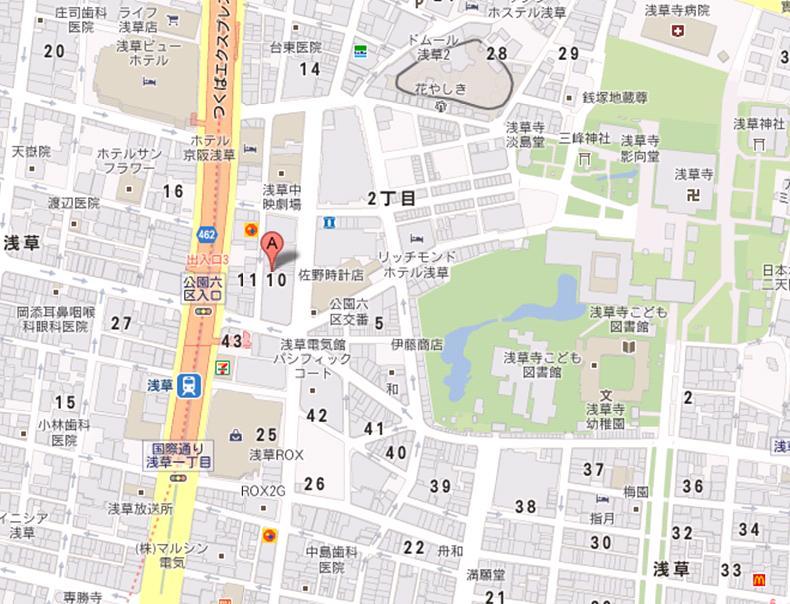 さくら・ふぐ えんこ福の家 地図