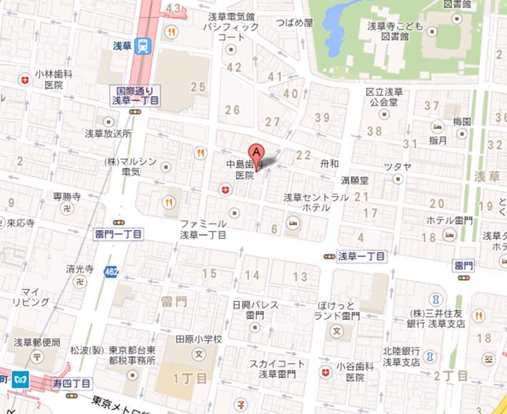 酒の大桝 wine-kan 地図