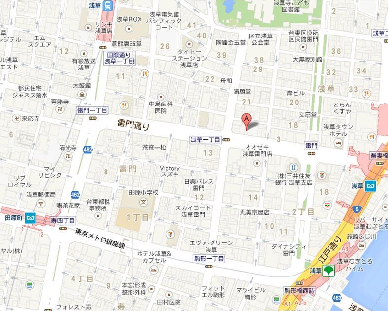 宝来鮨 地図