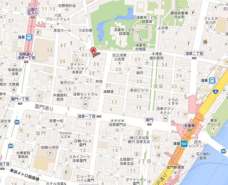 ローヤル珈琲店 地図