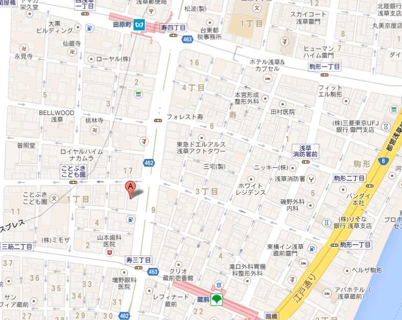 方記餃子 地図