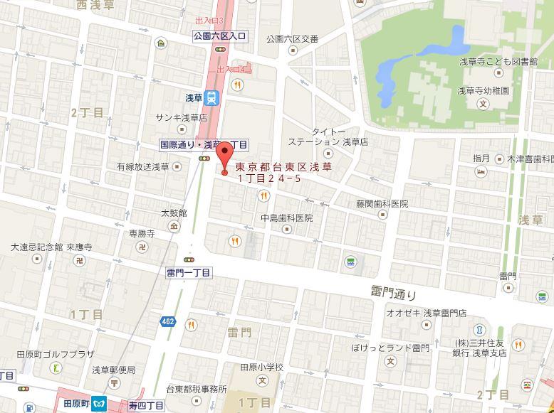 富士らーめん 地図