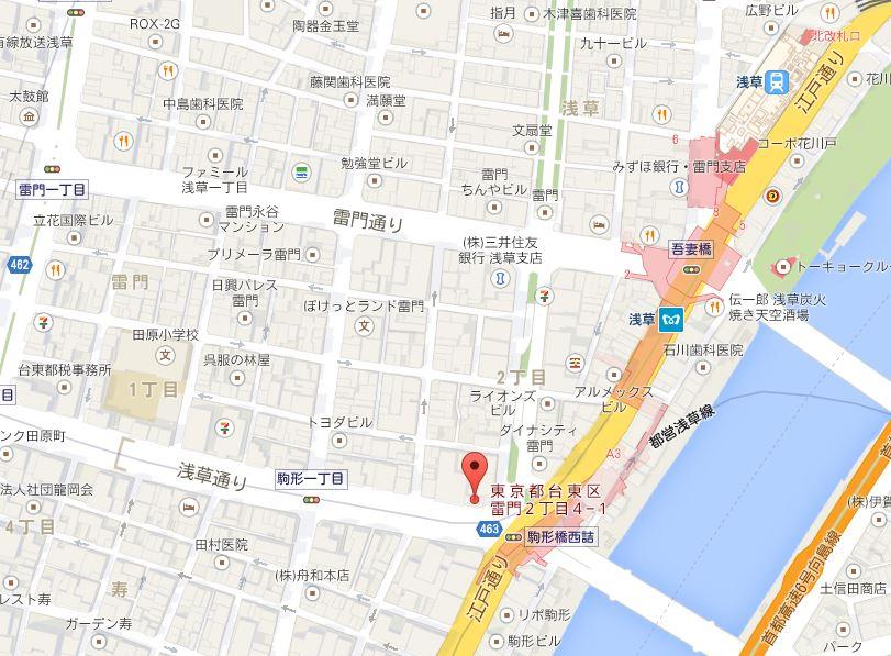 麺屋 江武里 地図